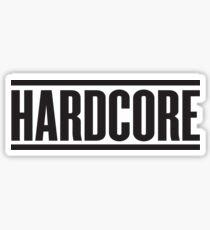 Hardcore Sticker