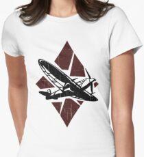 Donner des Krieges Tailliertes T-Shirt