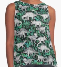 Dinosaur Jungle Contrast Tank