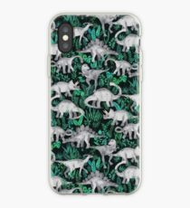 Dinosaur Jungle iPhone Case