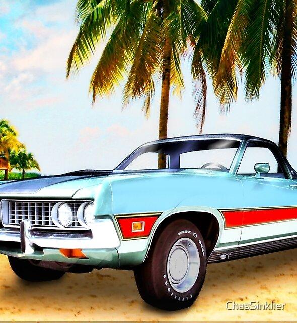 1971 Ford Ranchero bei Three Palms - 5. Generation von Ranchero von ChasSinklier
