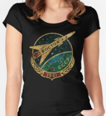 CCCP Boctok 1961 Women's Fitted Scoop T-Shirt