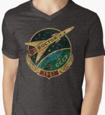 CCCP Boctok 1961 Men's V-Neck T-Shirt