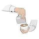 Latte-Kunst von Viktoriia