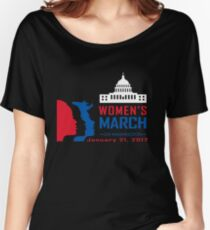 Women March On Washington Women's Relaxed Fit T-Shirt