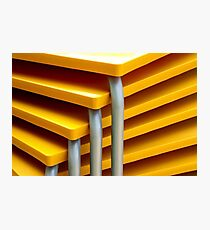 Table Stack Photographic Print