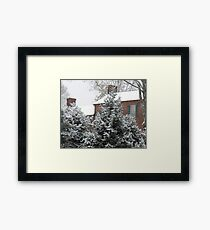 Home for Christmas... products Framed Print