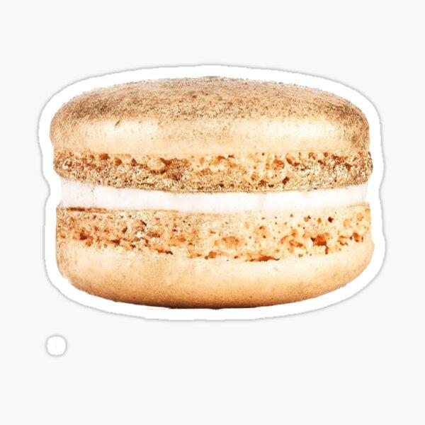 Gold Macaroon Macaron Sticker