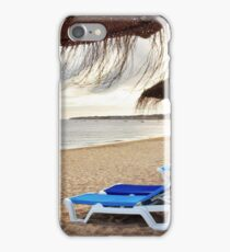 Relax in the beach iPhone Case/Skin