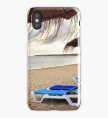 Relax in the beach iPhone Case/Skin