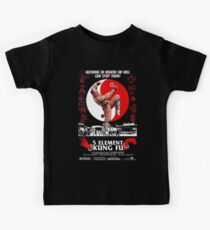 KUNG FU, FILM, POSTER, 5 Element,  Kids Tee