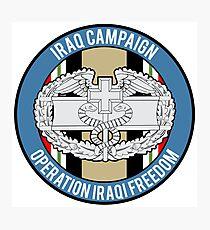 Combat Medic Iraq Veteran Photographic Print