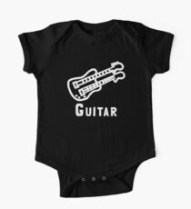 Double Neck Guitar One Piece - Short Sleeve