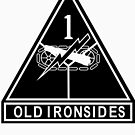 1st Armored stencil by jcmeyer