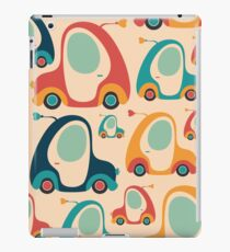 Retro Funny Car iPad Case/Skin