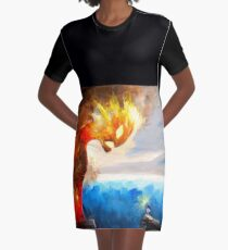 Know Who You Are  Graphic T-Shirt Dress