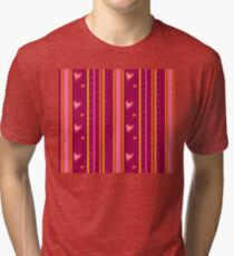 lines and hearts Tri-blend T-Shirt