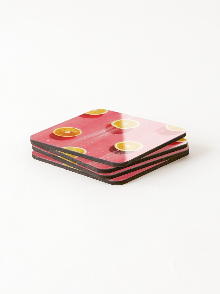 Alternate view of fruit 5 Coasters (Set of 4)