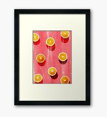 fruit 5 Framed Print