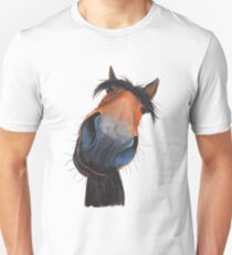 HAPPY HORSE 'HAPPY DAVE' BY SHIRLEY MACARTHUR Unisex T-Shirt