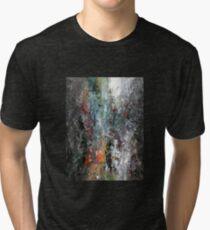 Modern Abstract Tri-blend T-Shirt