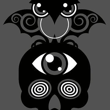 Monster by MUCK. Crypto Zoo. Demon Owl by Muck959