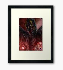 Dragons - Ermes the warlock Framed Print