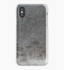 12.1.2017: Pine Tree in Blizzard III iPhone Case