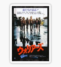 The Warriors Japan Poster Sticker