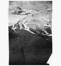 Whistler's Black Tusk & Harmony Ridge Poster