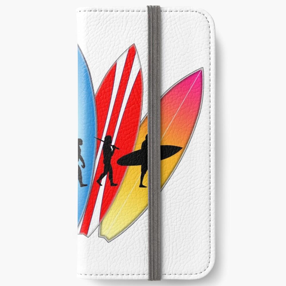 Surfer-Entwicklung iPhone Flip-Case