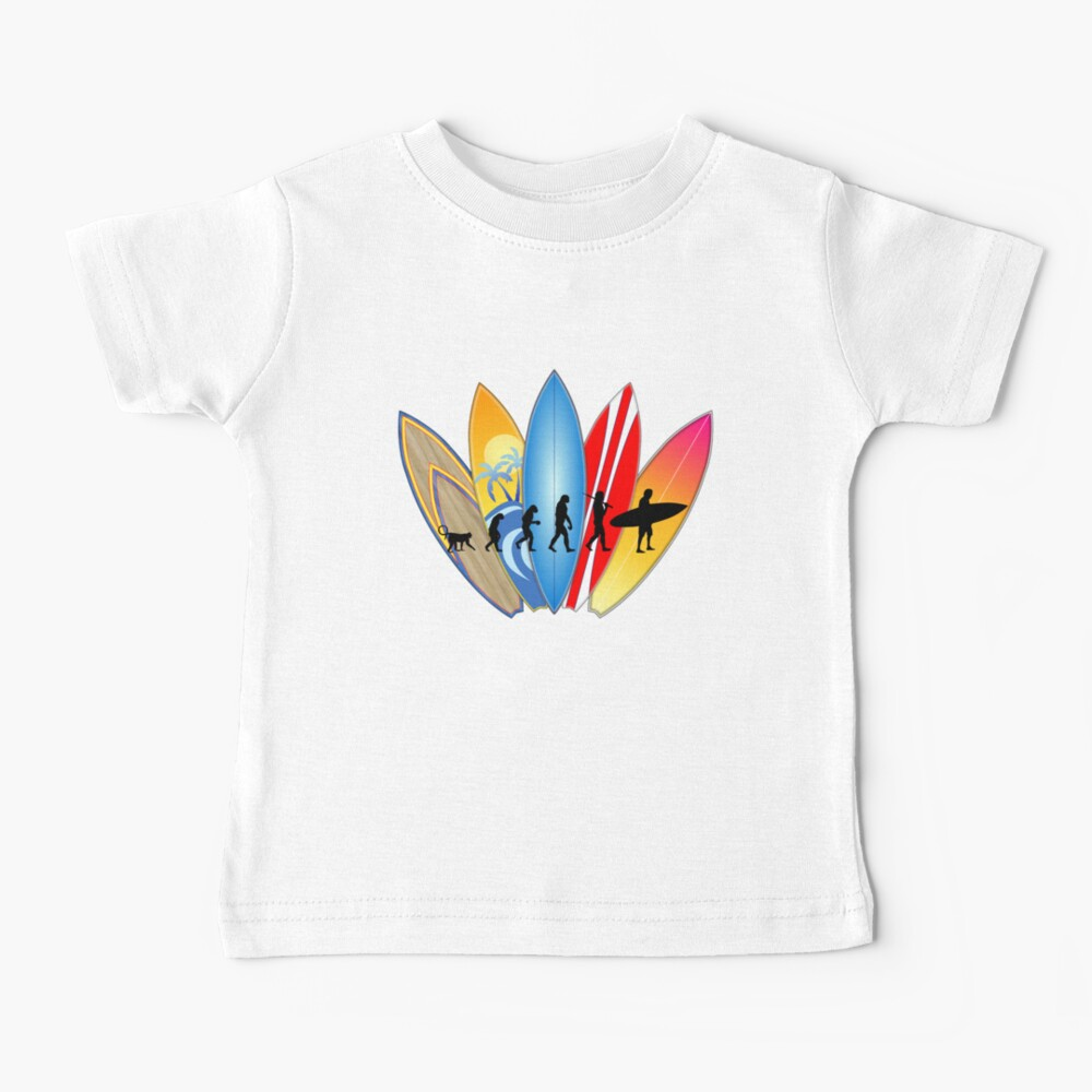 Surfer-Entwicklung Baby T-Shirt