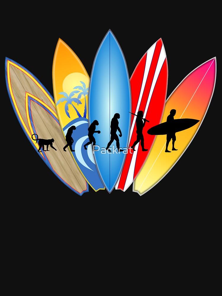 Surfer-Entwicklung von Packrat