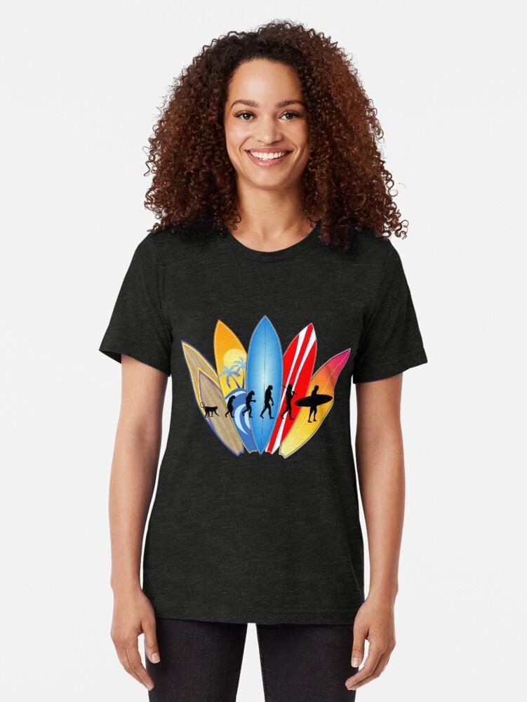 Alternative Ansicht von Surfer-Entwicklung Vintage T-Shirt