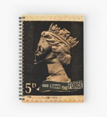 God Save The Force Spiral Notebook