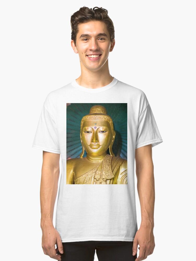 Monastery Buddha Classic T-Shirt Front