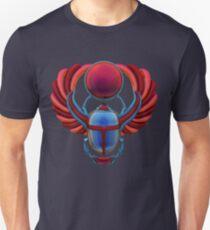 Colorful Egyptian Scarab Unisex T-Shirt