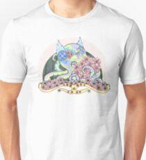 Poinsettia Octopus Art Nouveau  T-Shirt