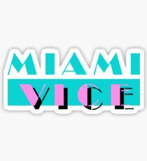 Miami Vice Sticker