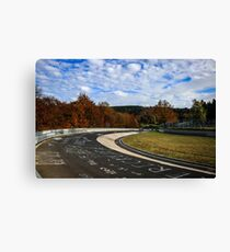 Autumn at the 'Ring Canvas Print