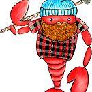 Maine Lumberjack Lobster by Leliza