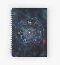 Zodiac Chart Spiral Notebook