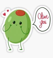 Olive du! #digistickie Sticker