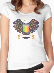 Dreaming (not Screaming) Eagle Women's Fitted Scoop T-Shirt
