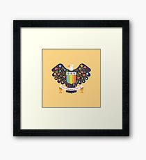 Dreaming (not Screaming) Eagle Framed Print