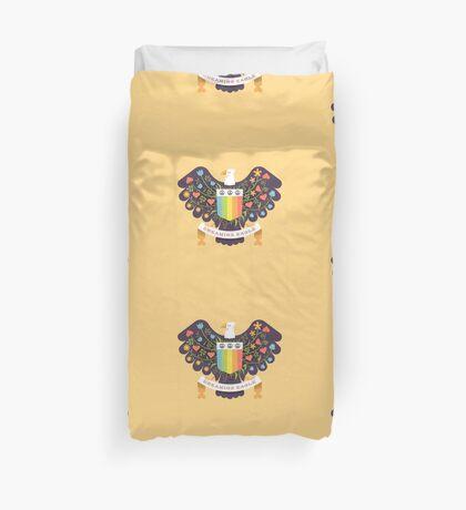 Dreaming (not Screaming) Eagle Duvet Cover
