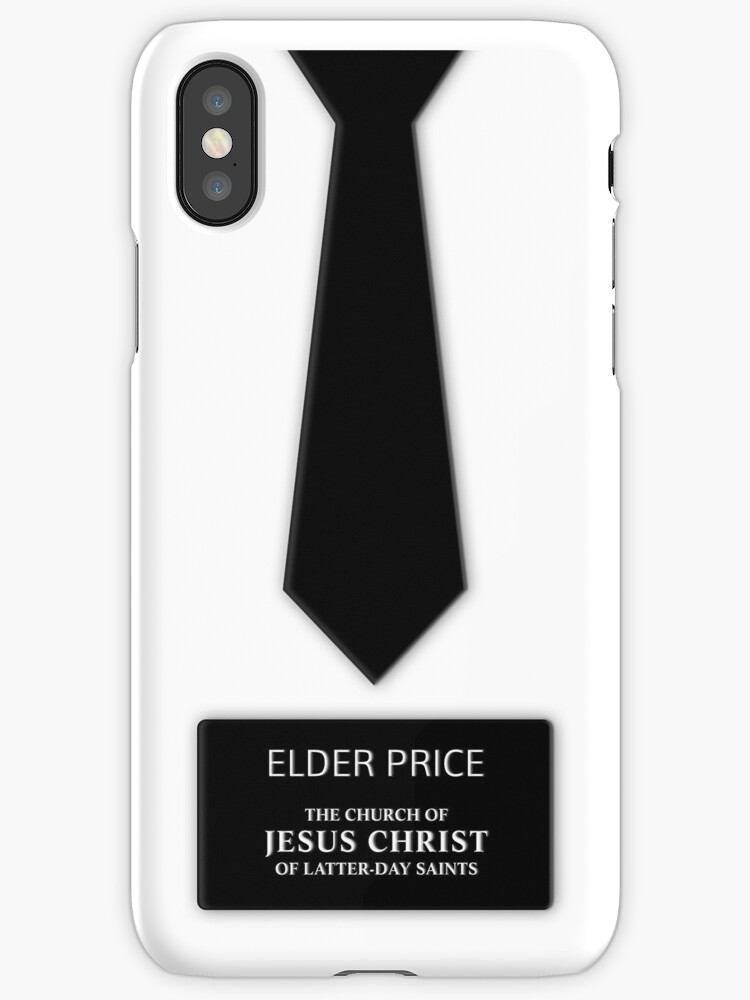 Elder Price Tie Name Tag by GoodbyeMrChris