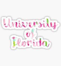 University of Florida Lilly Print Sticker