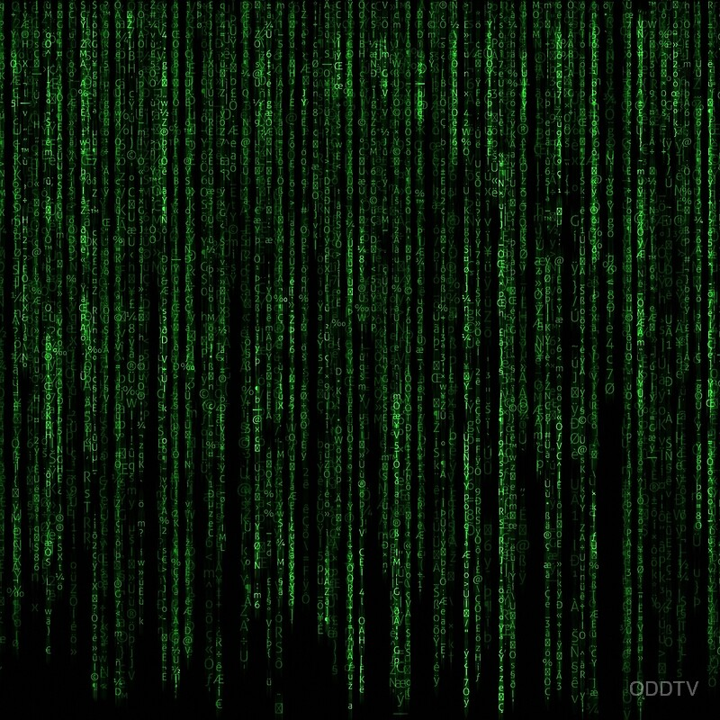 """Matrix Code Pattern"" Posters by ODDTV 
