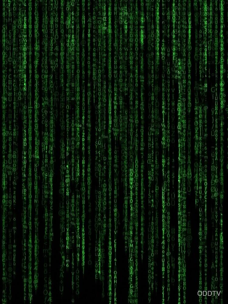 Matrix Code Pattern by ODDTV